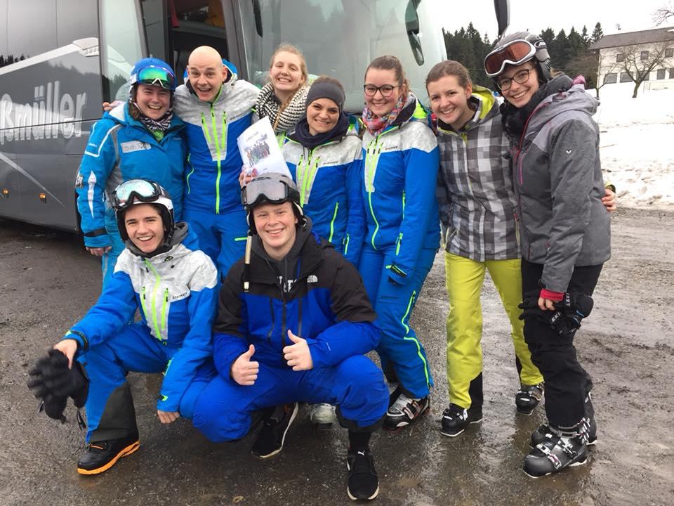 Skikurs Neujahr 2018